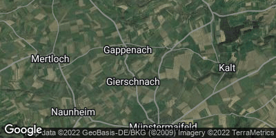Google Map of Gappenach
