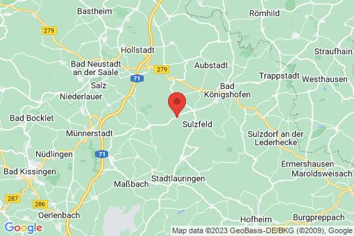 Karte Großbardorf