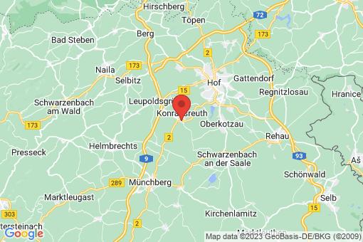 Karte Konradsreuth