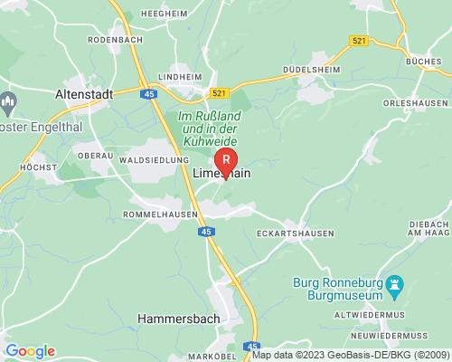 Google Karte von Rohrreinigung Limeshain