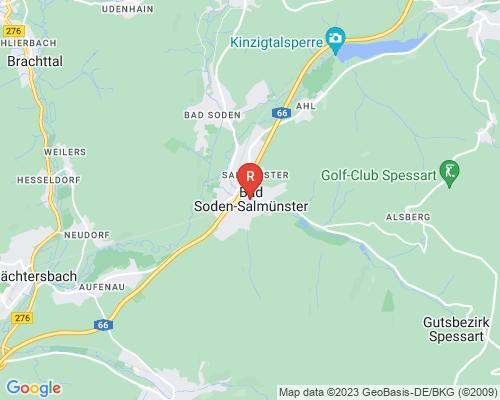 Google Karte von Rohrreinigung Bad Soden-Salmünster