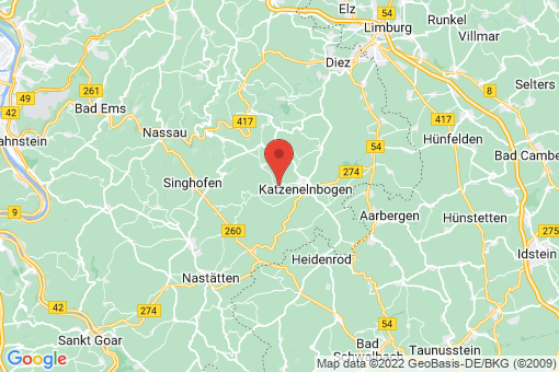 Karte Ergeshausen