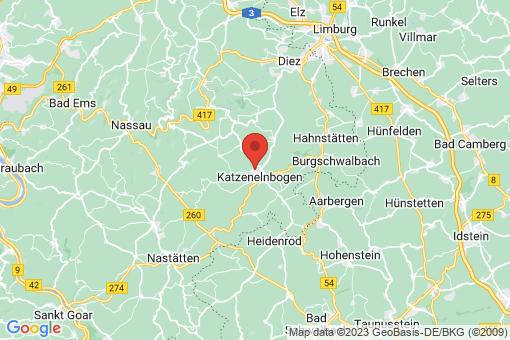 Karte Klingelbach