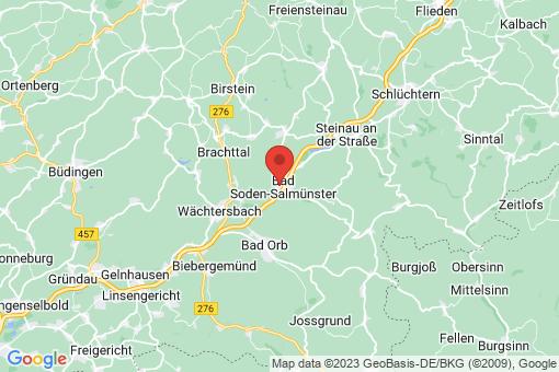 Karte Bad Soden-Salmünster