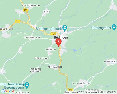 Google Karte von Rohrreinigung Büdingen