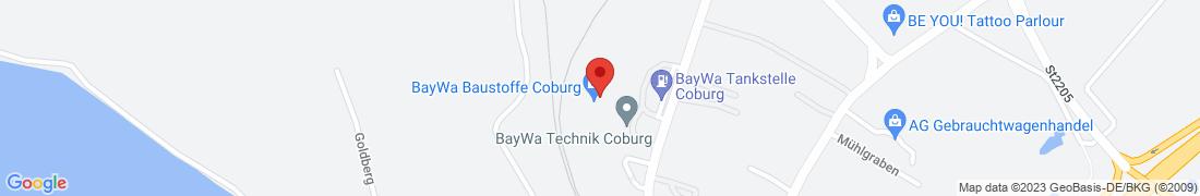 BayWa Haustechnik GmbH Coburg Anfahrt