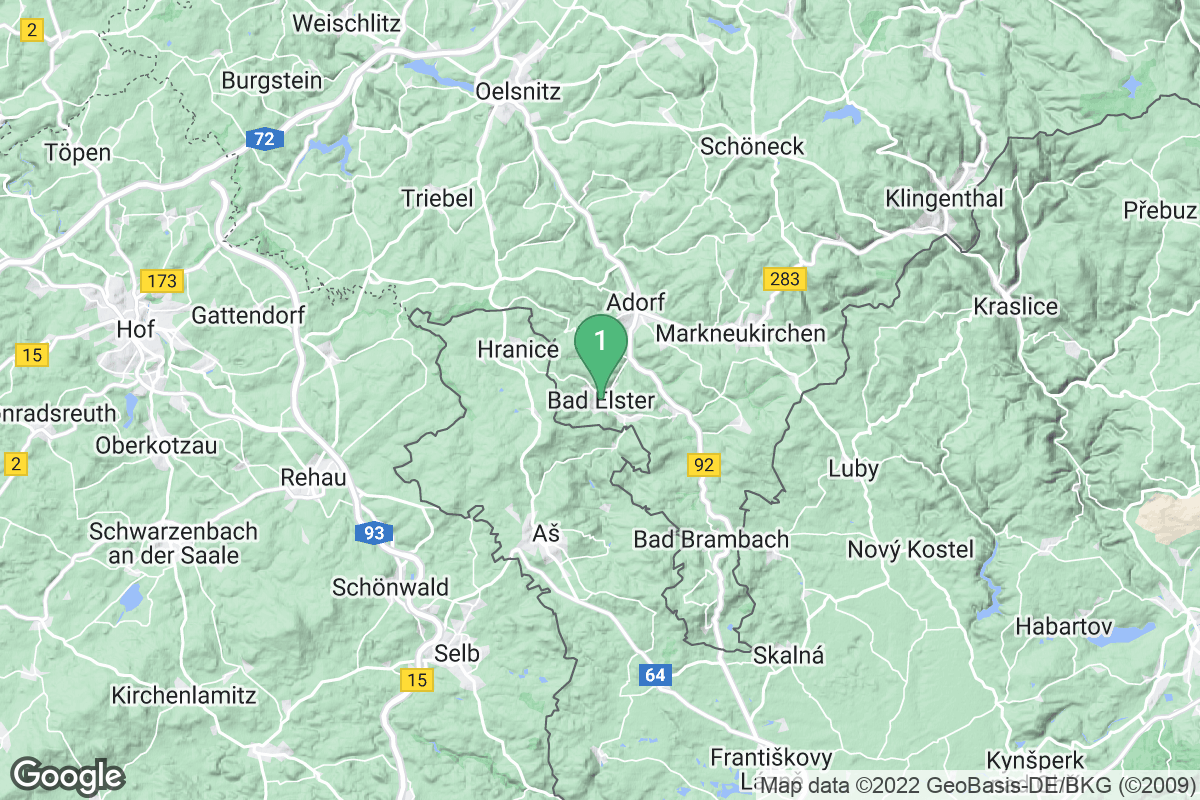 Google Map of Bad Elster