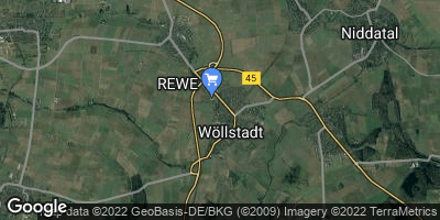 Google Map of Wöllstadt