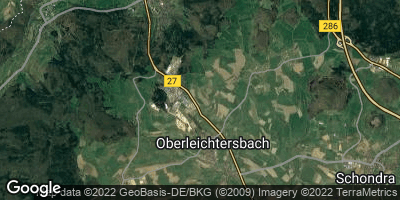 Google Map of Oberleichtersbach