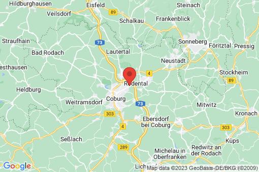 Karte Dörfles-Esbach