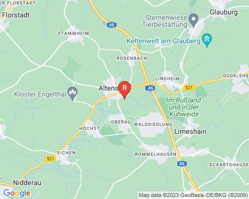 Google Karte von Rohrreinigung Altenstadt