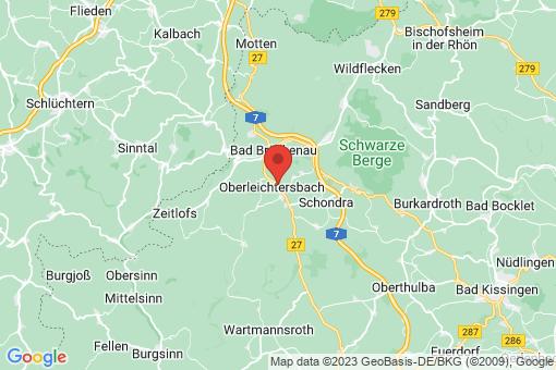 Karte Oberleichtersbach