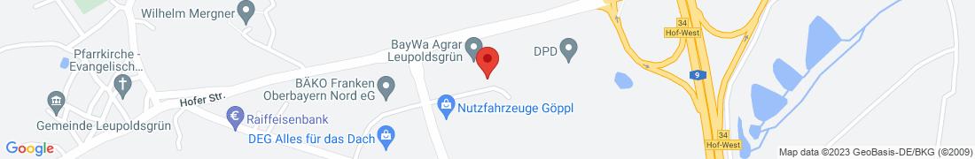 BayWa AG Leupoldsgrün Anfahrt