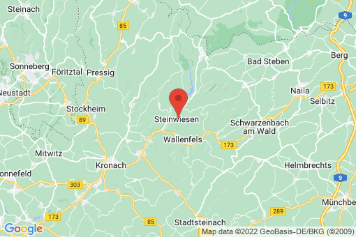 Karte Steinwiesen
