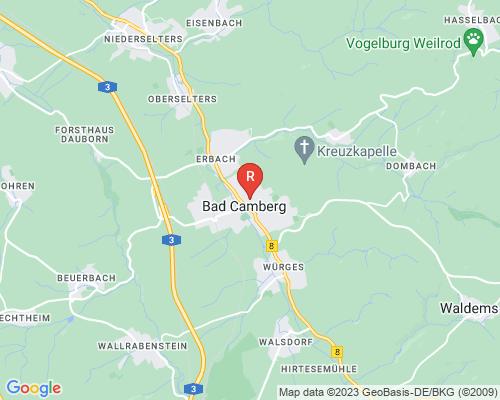 Google Karte von Rohrreinigung Bad Camberg