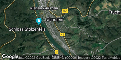 Google Map of Oberlahnstein