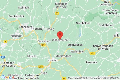 Karte Wilhelmsthal