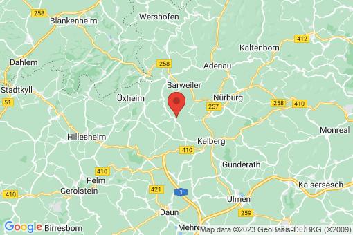 Karte Bodenbach