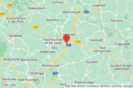 Karte Rödelmaier