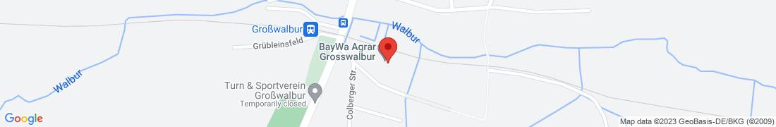 BayWa AG Grosswalbur Anfahrt