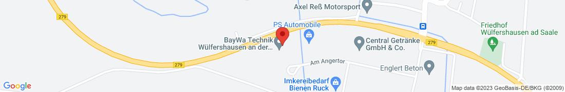 BayWa Technik Wülfershausen Anfahrt