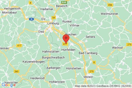 Karte Hünfelden