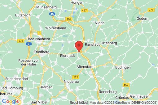 Karte Florstadt