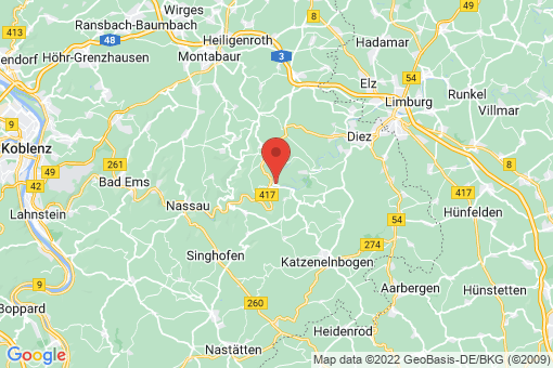 Karte Laurenburg