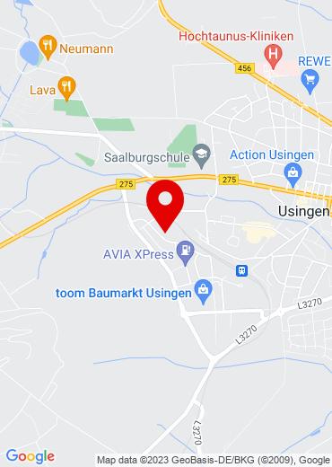 Google Map GIV GmbH Competence in ERP und COBOL, Usingen - zum Routenplaner