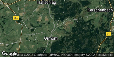 Google Map of Ormont