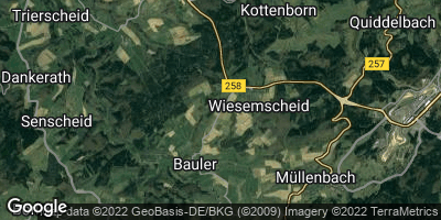 Google Map of Wiesemscheid