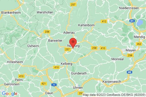 Karte Nürburg