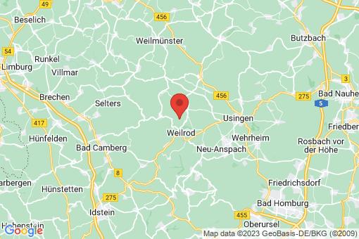 Karte Weilrod