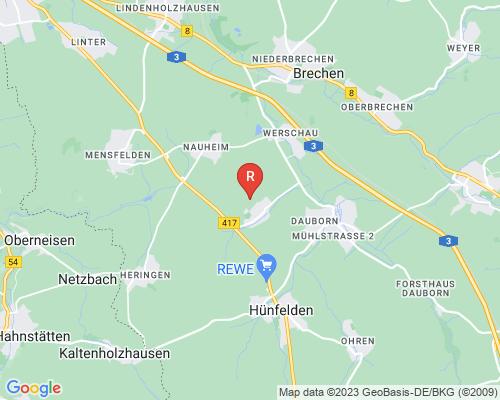 Google Karte von Rohrreinigung Hünfelden