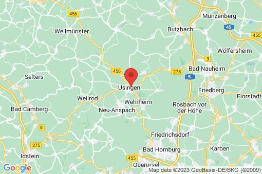 Karte Usingen