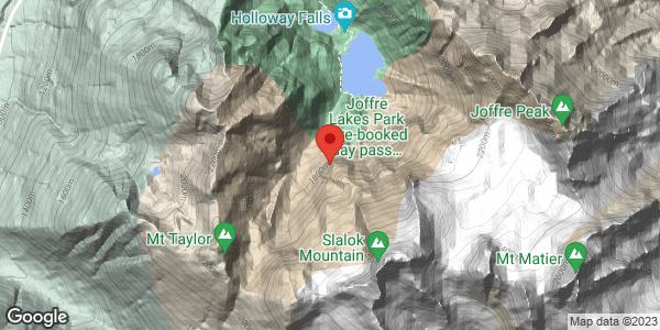Joffre Lake to Mt Tszil