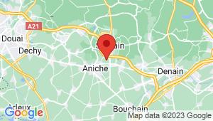 Carte de localisation du centre de contrôle technique SOMAIN
