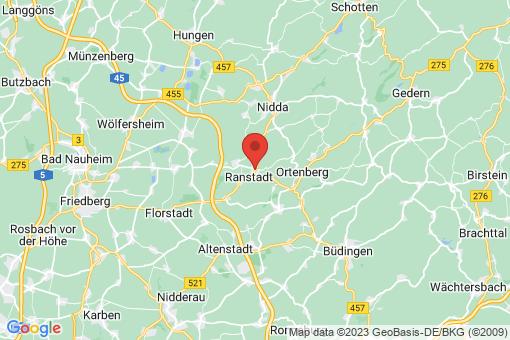 Karte Ranstadt