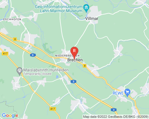Google Karte von Rohrreinigung Brechen