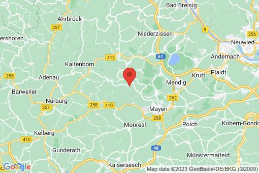 Karte Kirchwald