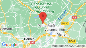 Carte de localisation du centre de contrôle technique PETITE FORET