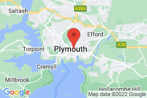 University of Plymouth, Charles Seale Hayne Library on the map