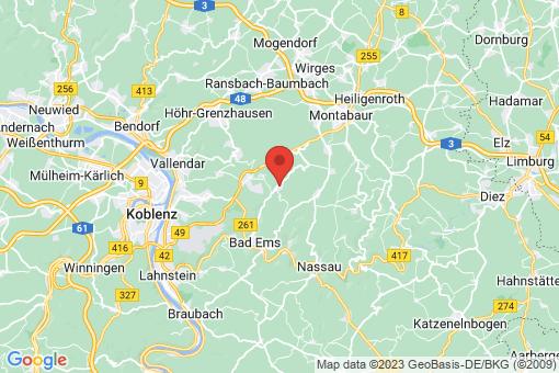 Karte Arzbach
