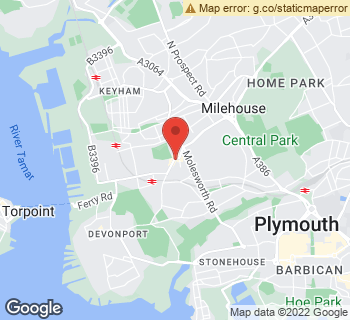 Map of Flower Fayre at 57 Devonport Road, Plymouth, Devon PL3 4DL