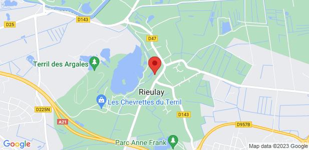 Location de bureaux de 21 m² ou 42 m² à Rieulay (59)