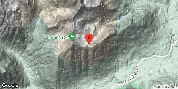 Cayoosh-Laziest Boy Ridge Top