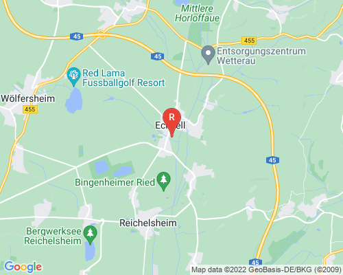 Google Karte von Rohrreinigung Echzell