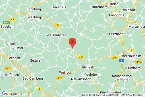 Karte Grävenwiesbach