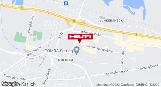 Wegbeschreibung zu Hilti Store Mülheim-Kärlich
