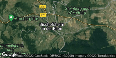 Google Map of Bischofsheim